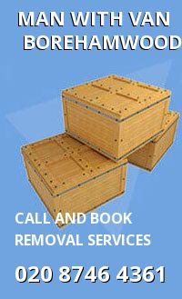 home removals WD6