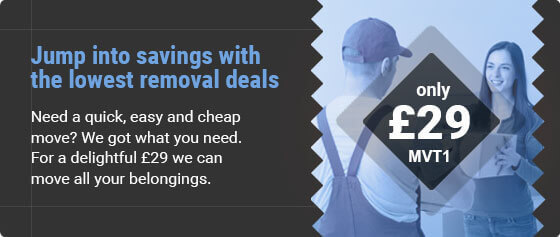 Special Prices for Moving Services