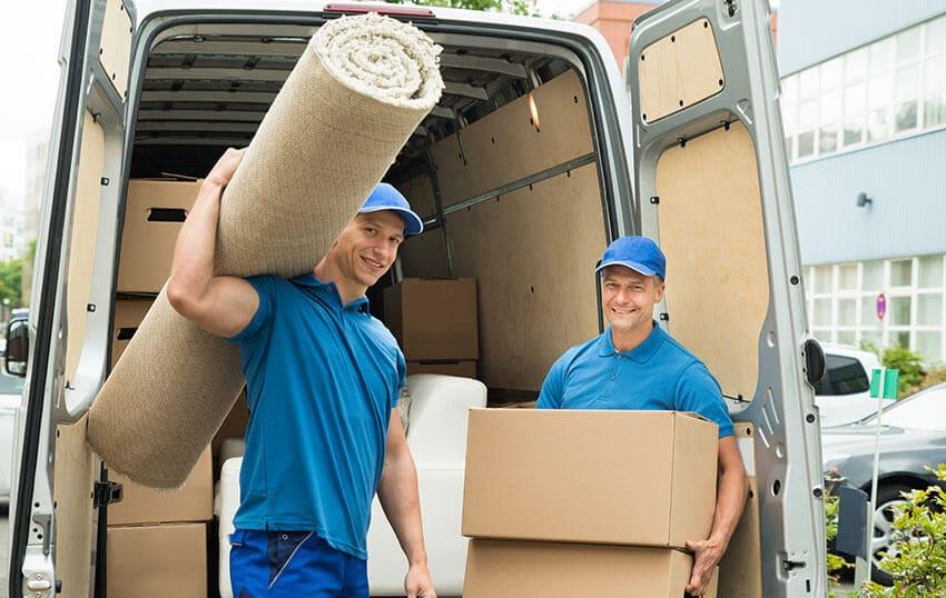 Exning move van