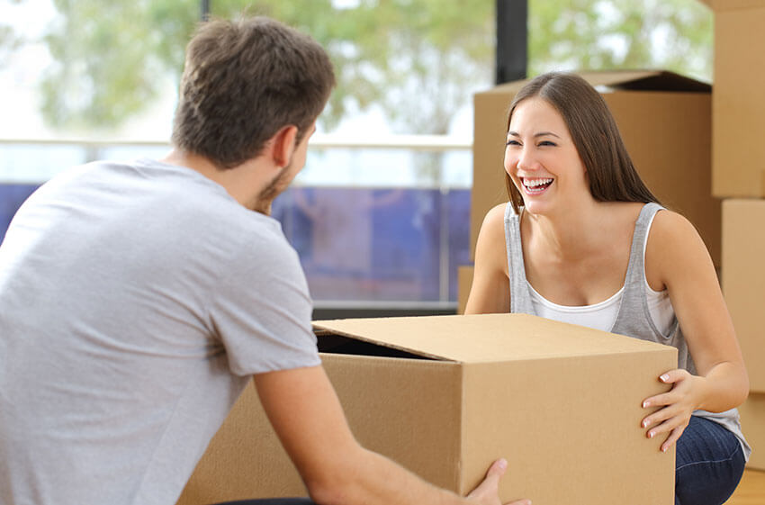 small move Leicestershire