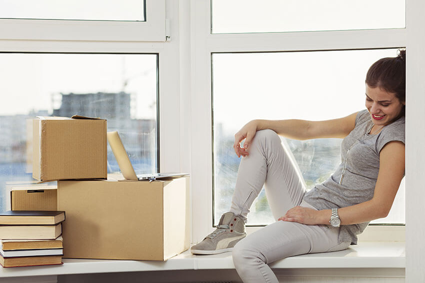 office movers in Sharlston